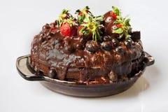 蓝莓包括美食的草莓 免版税库存图片