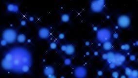 蓝莓微粒抽象圈 影视素材