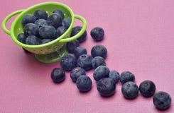 蓝莓新鲜现代 免版税库存照片