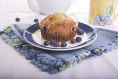 蓝莓松饼 图库摄影