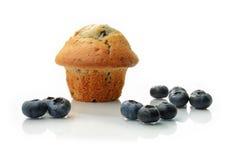 蓝莓松饼II 库存图片
