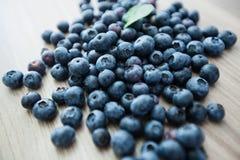 蓝莓果子新鲜抗氧剂食物 图库摄影