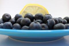 蓝莓柠檬 库存图片
