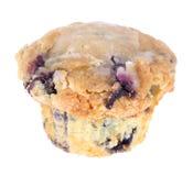 蓝莓查出的松饼 免版税库存图片