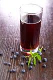蓝莓汁 库存图片