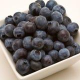 蓝莓点心 免版税库存照片