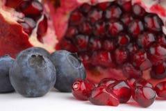 蓝莓石榴 图库摄影