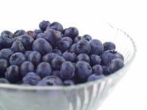 蓝莓碗结算 库存照片