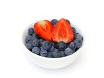 蓝莓草莓 免版税图库摄影