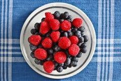 蓝莓莓 库存照片