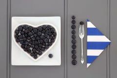 蓝莓Superfood 免版税库存图片