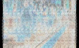 蓝蓝被弄脏的背景 库存图片