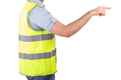 蓝领工人。 免版税库存图片