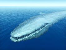 蓝鲸 库存例证