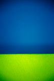 蓝绿色墙壁 免版税图库摄影