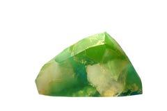 蓝绿色肥皂岩石,手工制造宝石肥皂石头 免版税库存图片