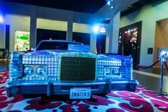 蓬塔CANA,多米尼加共和国- 2015年10月29日:玛丹娜` s大型高级轿车在硬岩旅馆里 库存照片