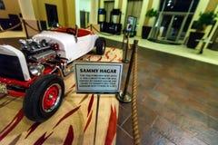 蓬塔CANA,多米尼加共和国- 2015年10月29日:Sammy阿加尔` s汽车在硬岩旅馆里 免版税库存照片