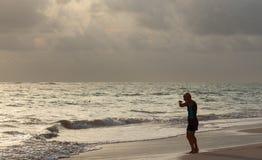 蓬塔CANA,多米尼加共和国- 2015年10月2th日 库存照片