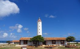 蓬塔de MaisA?灯塔,古巴 免版税库存图片