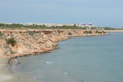 蓬塔prima是托雷维耶哈普遍的手段的最南部的部分,被认出作为最生态上干净的区域  免版税图库摄影