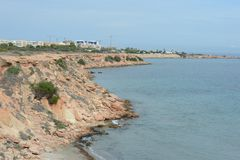 蓬塔prima是托雷维耶哈普遍的手段的最南部的部分,被认出作为最生态上干净的区域  免版税库存图片