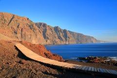 蓬塔Teno,特内里费岛,加那利群岛 库存照片