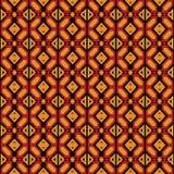 蓬松卷发几何安卡拉样式 免版税库存照片