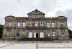 蓬特韦德拉,西班牙的地方政府 免版税库存照片