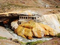蓬特del Inca 库存图片