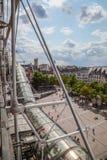 蓬皮杜文化艺术中心在巴黎,法国 免版税库存照片
