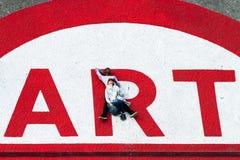 蓬皮杜文化艺术中心的人们 图库摄影