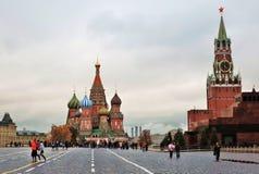 蓬蒿大教堂莫斯科俄国s圣徒 库存图片