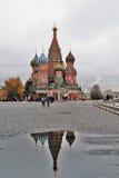 蓬蒿大教堂莫斯科俄国s圣徒 图库摄影