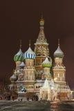 蓬蒿大教堂莫斯科红色s方形st 免版税库存照片