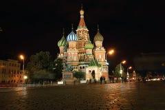 蓬蒿大教堂莫斯科s st 免版税库存照片