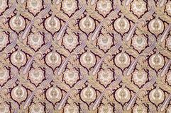 蔓藤花纹老装饰品样式 库存图片