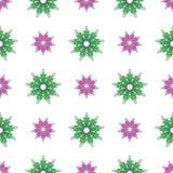 蔓藤花纹装饰 模式无缝的向量 库存图片