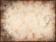 蔓藤花纹设计纸张 皇族释放例证
