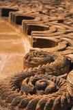 摩洛哥蔓藤花纹 免版税库存图片
