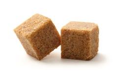 蔗糖立方体 免版税库存照片