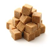 蔗糖立方体 免版税图库摄影