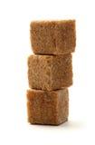 蔗糖立方体 免版税库存图片