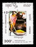 蔗糖,国家发展serie的准备,大约199 免版税图库摄影
