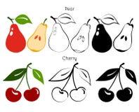 蔬菜和果子 图库摄影