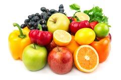 蔬菜和水果 库存照片