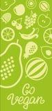 蔬菜和水果象长方形框架bacground 库存照片