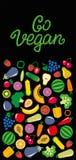 蔬菜和水果象长方形框架bacground 免版税库存图片