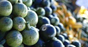 蔬菜在农夫市场上 库存照片