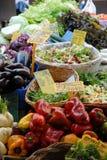 蔬菜在市场上 免版税库存照片